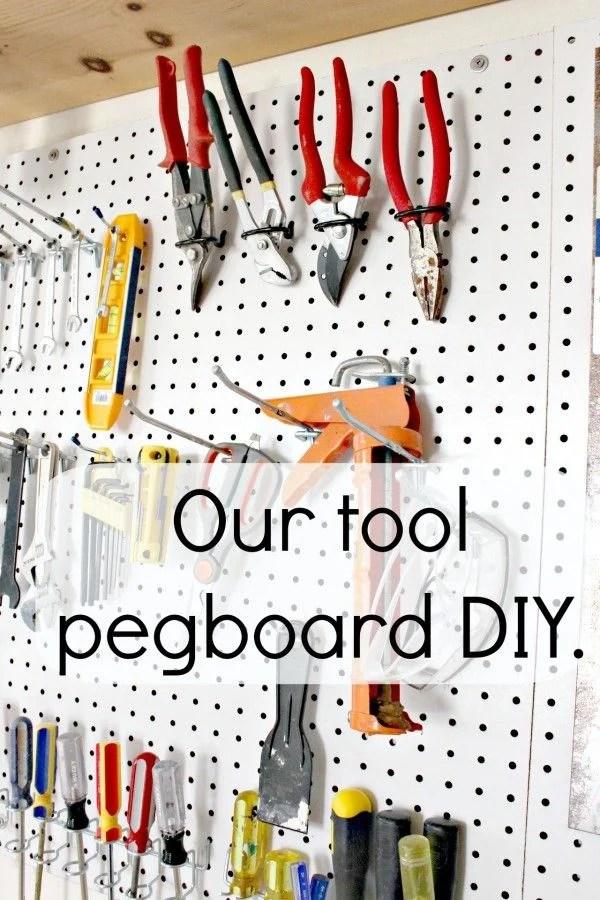 tool pegboard