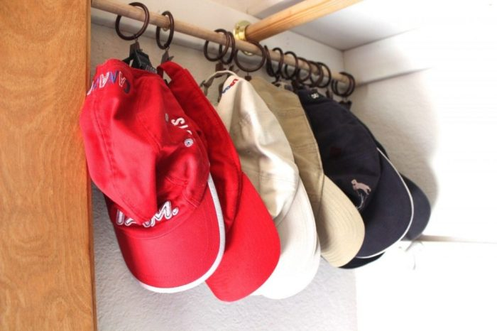 Keep Baseball Caps Organized With These Hacks