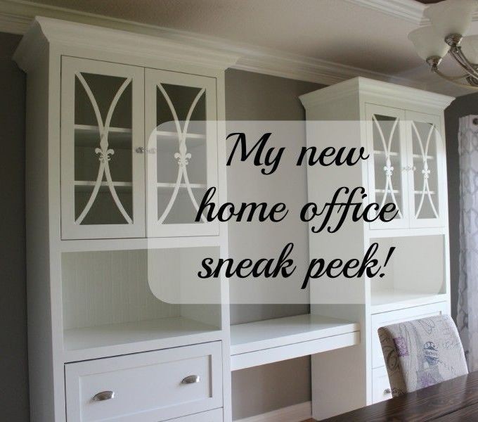 Home office makeover sneak peak!