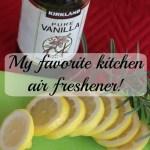 My favorite natural air freshener.