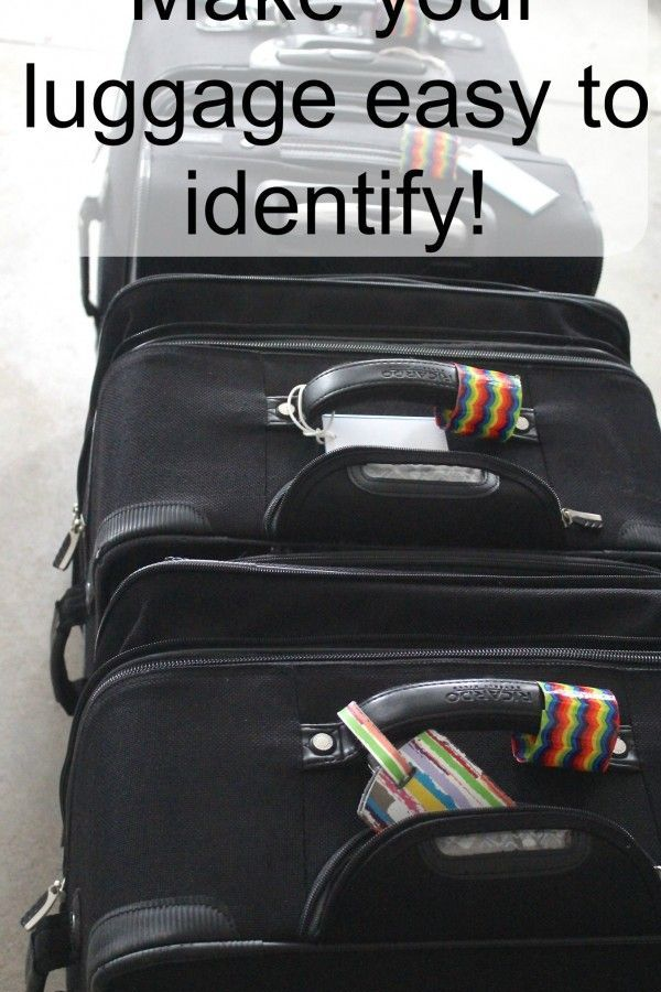 Mark your Suitcases for Easy Identification