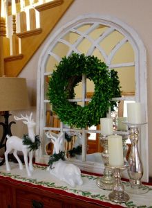 Christmas Decorations in my Foyer