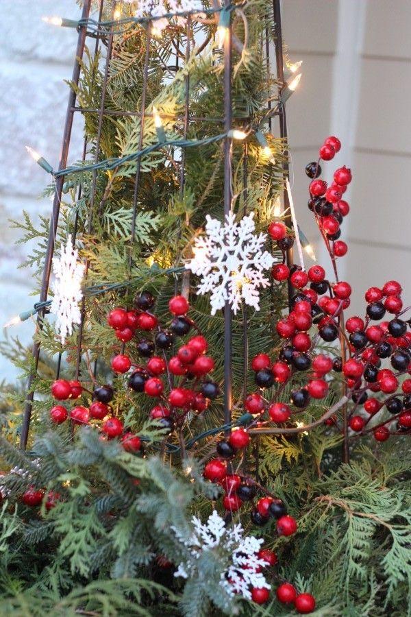 The Christmas Front Door
