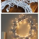 My White Christmas Wreath. This DIY cost less than $10!