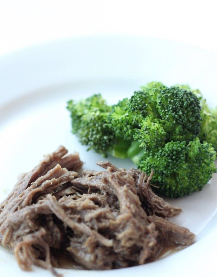 Shredded beef. Five different meals.
