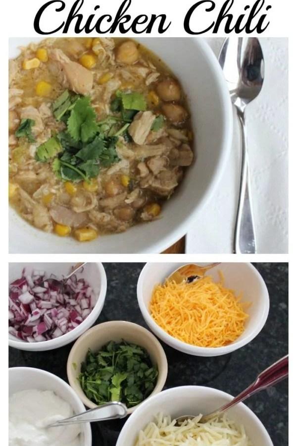 White chicken chili recipe!