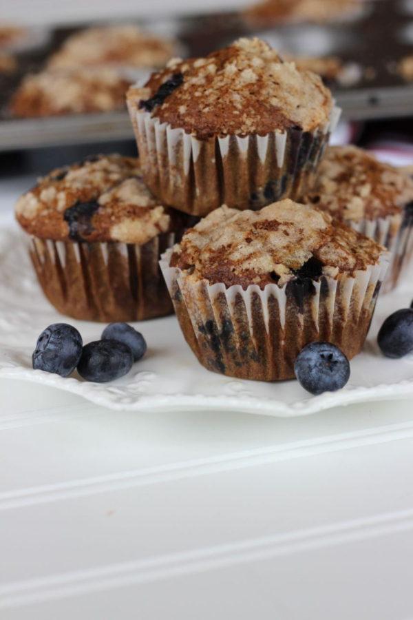 Blueberry Pumpkin Muffins