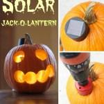 solar jack-o-lantern