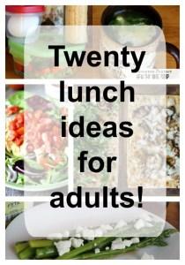 20 luch ideas