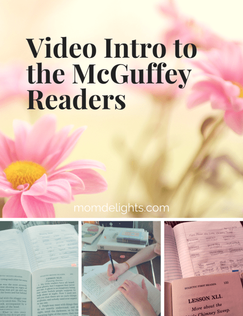 Video Intro to the McGuffey Readers