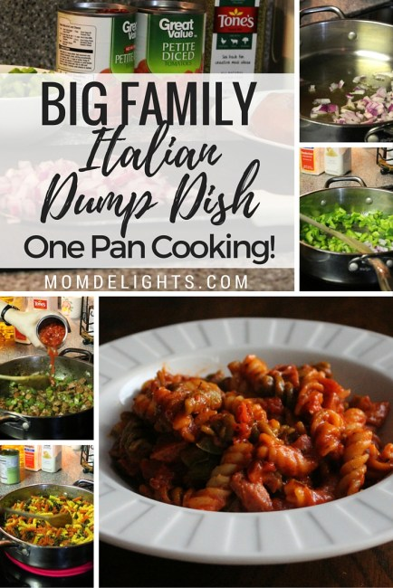 Big Family Italian Dump Dish