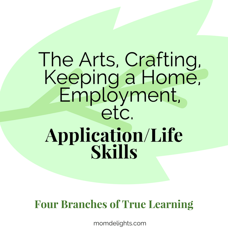 four branches of true education: child in relation to God and man Homeschooling
