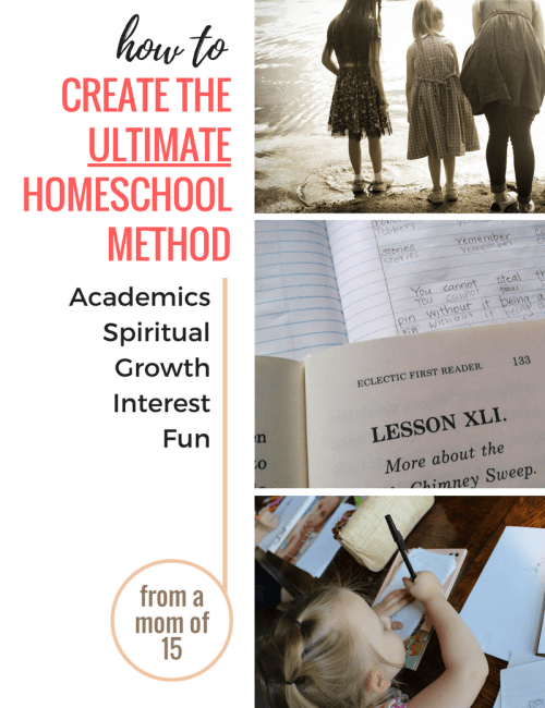 How to Build the Ultimate Homeschool Method