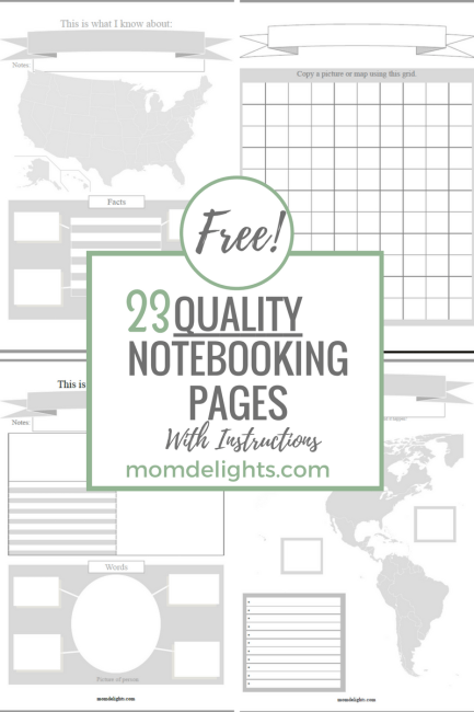 Free QUALITY Notebooking Pages