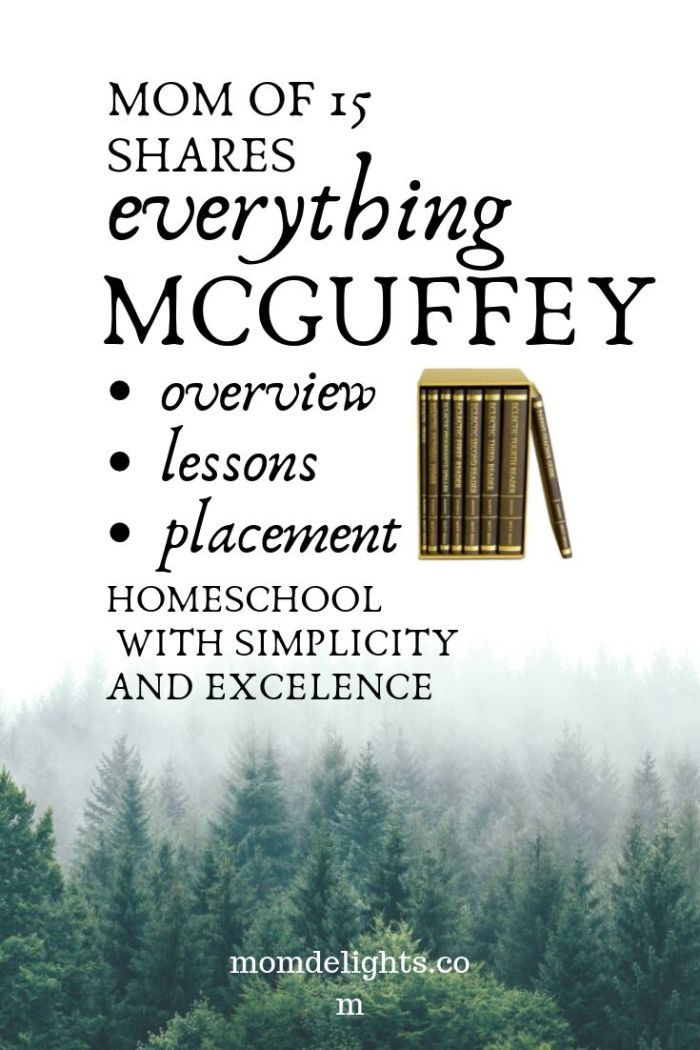 everything about the mcguffey readers from a mom of 15