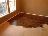 DIY PAPER BAG FLOORS THAT LOOK LIKE STAINED CONCRETE ...