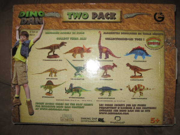 Geoworld Dino Dan And Giveaway- Ends 10 24 1159p
