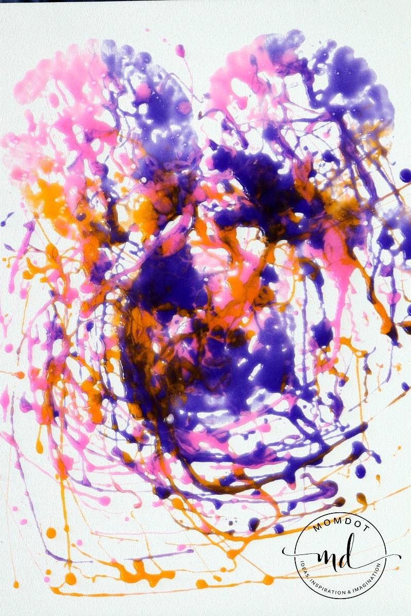 Slime Painting : slime, painting, Slime, Painting