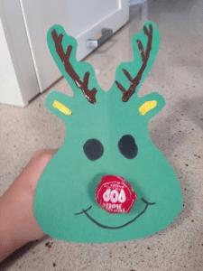 reindeer lollipop favors