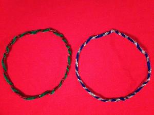 tinsel headbands 1