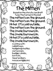the mitten song