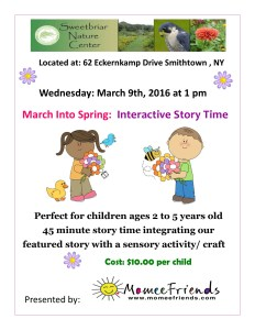 Interactive Story TIme- March 2016