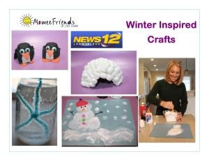 winter inspired crafts