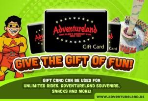 adventureland gift card