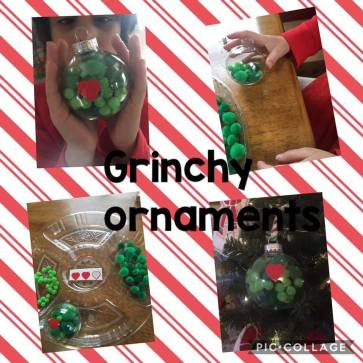 grinch ornament Laura
