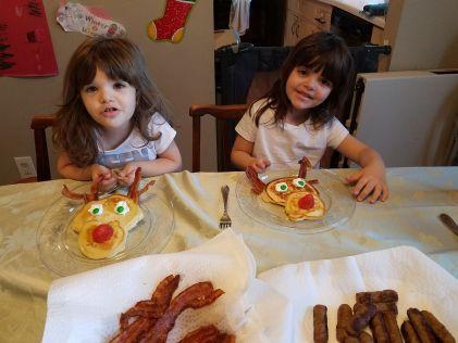 reindeer pancakes 1