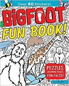 big foot fun book image