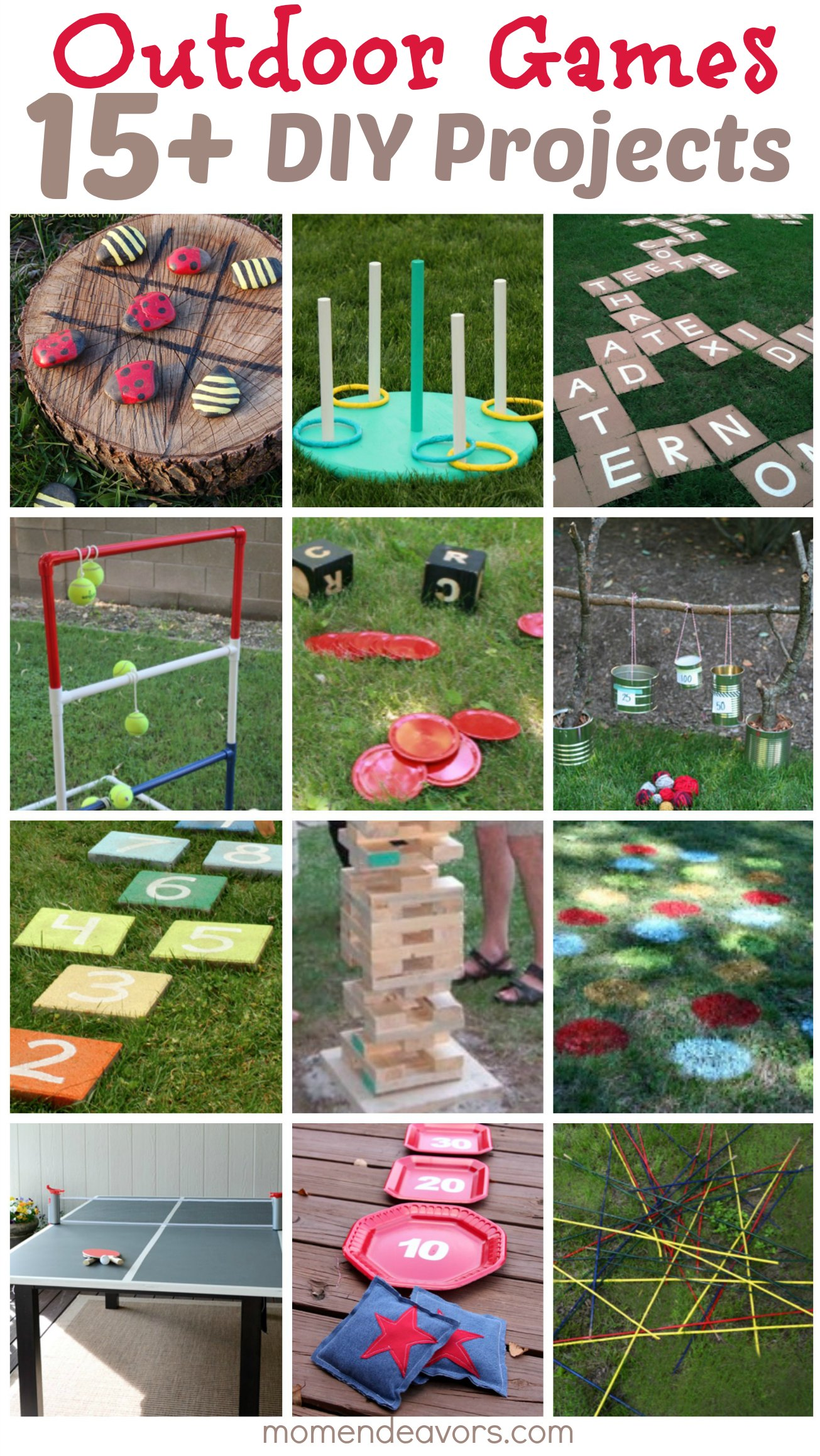Diy Outdoor Games  15+ Awesome Project Ideas For Backyard