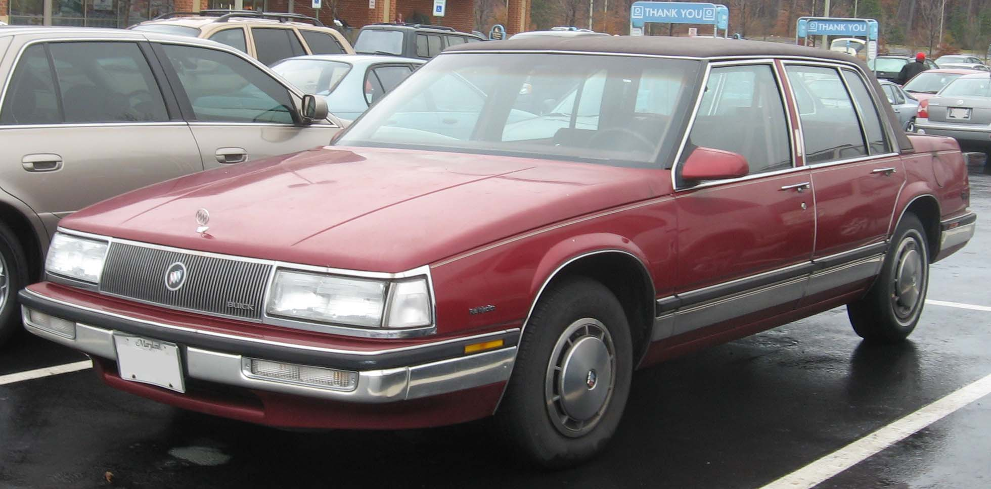 hight resolution of buick park avenue 1989 7