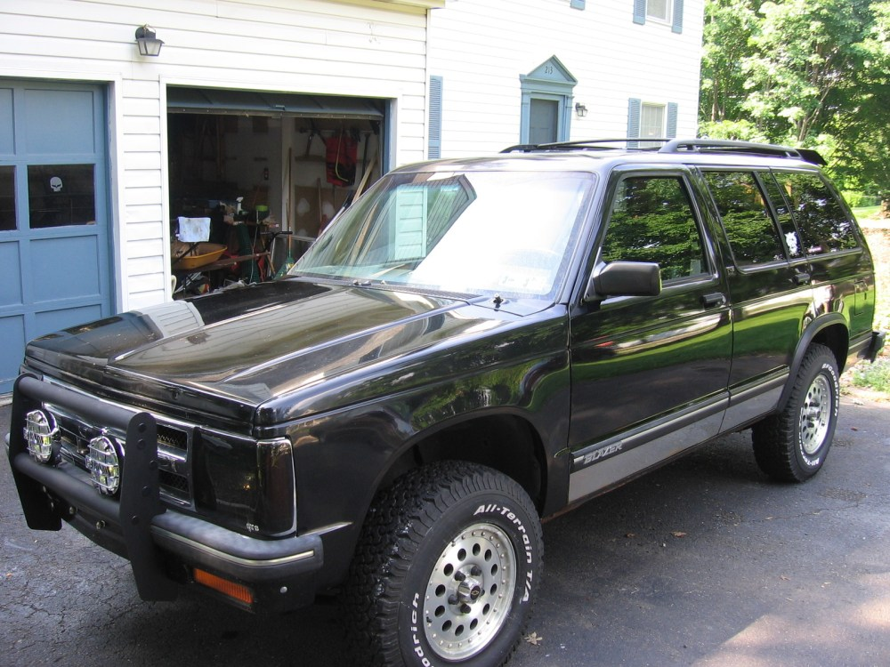 medium resolution of chevrolet s 10 blazer 1994 9
