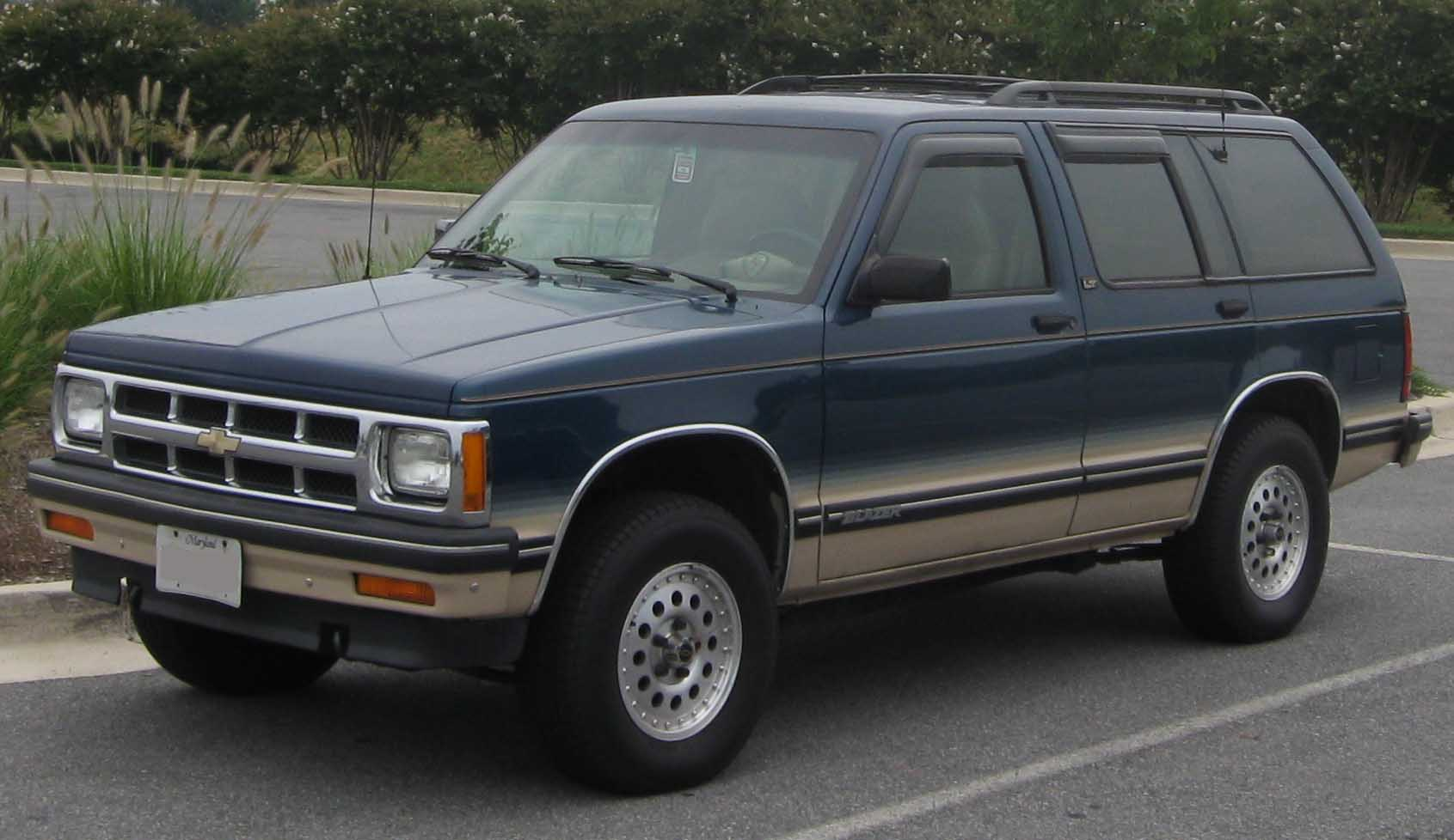 hight resolution of chevrolet s 10 blazer tahoe 10