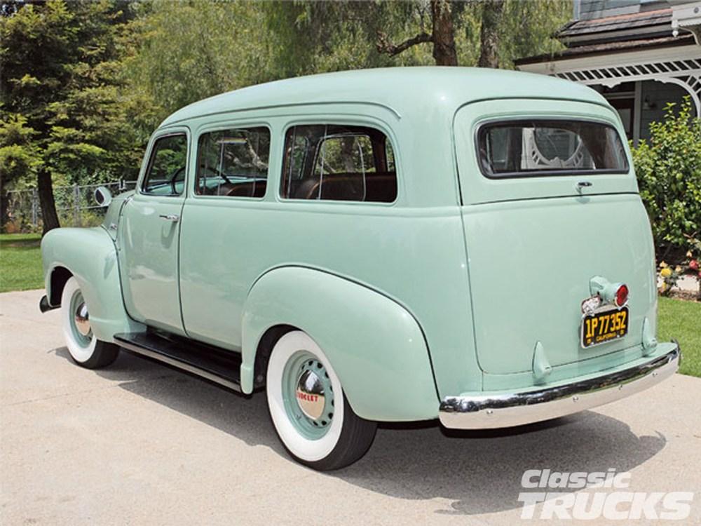 medium resolution of chevrolet suburban 1950 3