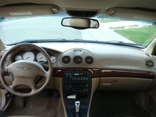small resolution of  chrysler 300m 2001 12