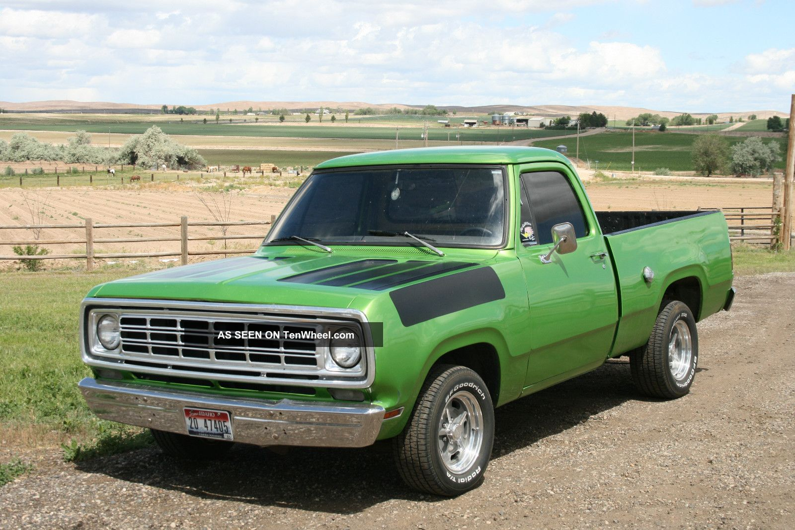 hight resolution of dodge pickup 1976 6