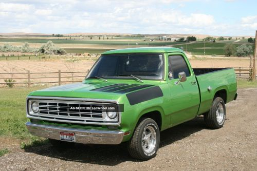 small resolution of dodge pickup 1976 6