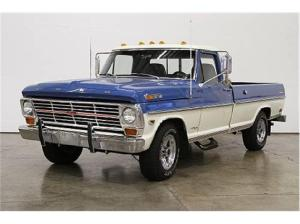 1968 Ford F250  Information and photos  MOMENTcar