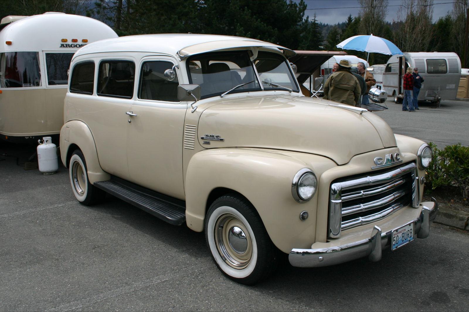 hight resolution of gmc suburban 1950 1