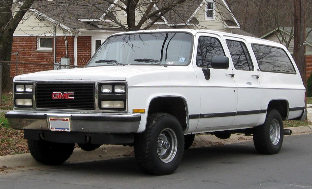 medium resolution of gmc suburban 1977 8