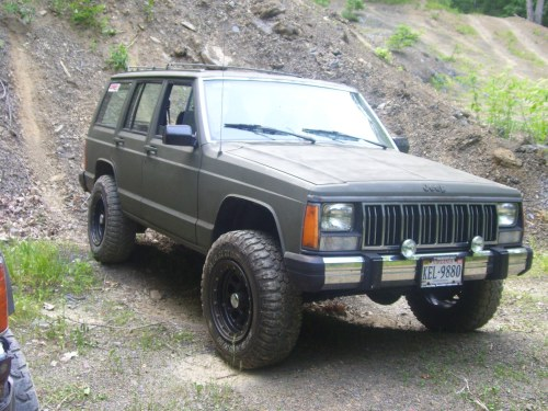 small resolution of  jeep cherokee 1989 14