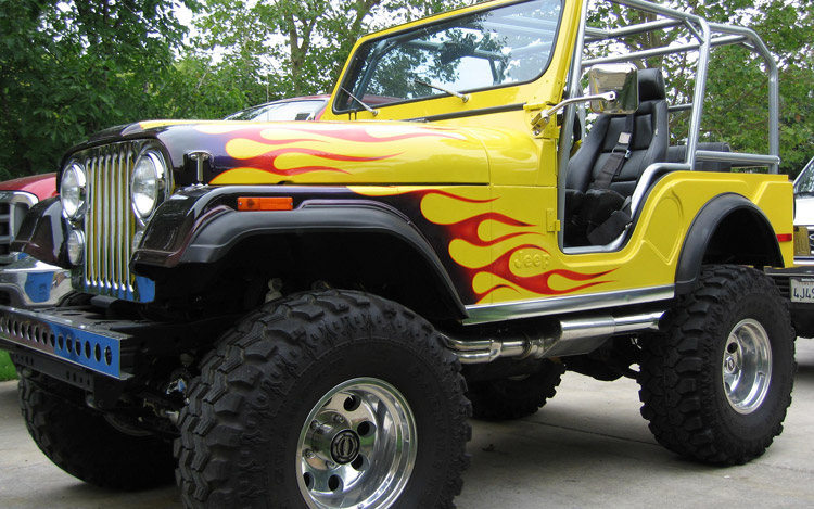 Cj So Cool Car Wallpapers 1976 Jeep Cj 5 Information And Photos Momentcar