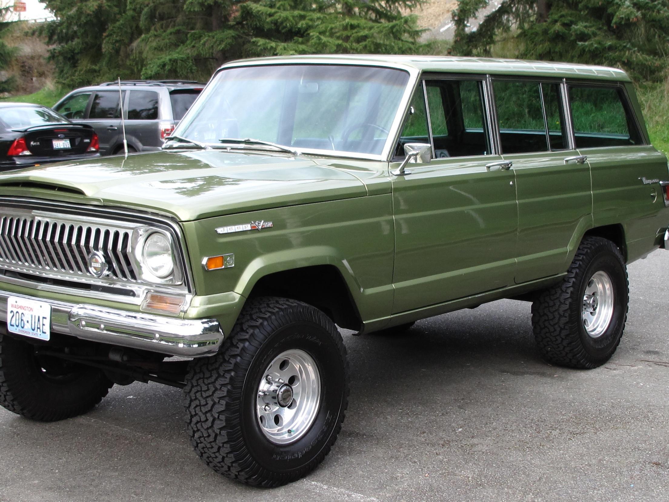 1970 Jeep Wagoneer Lifted