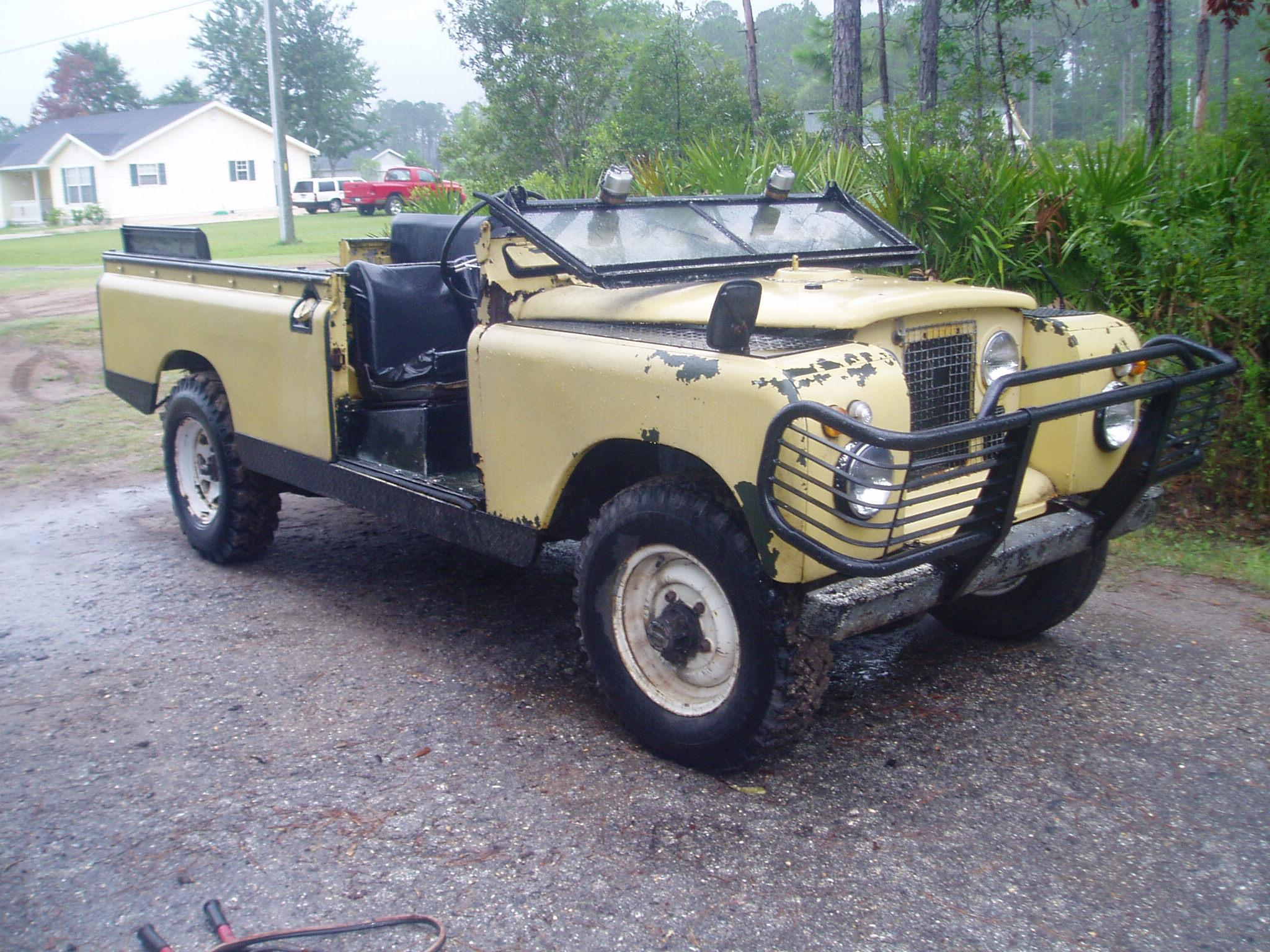 1964 Land Rover Series II Information and photos MOMENTcar