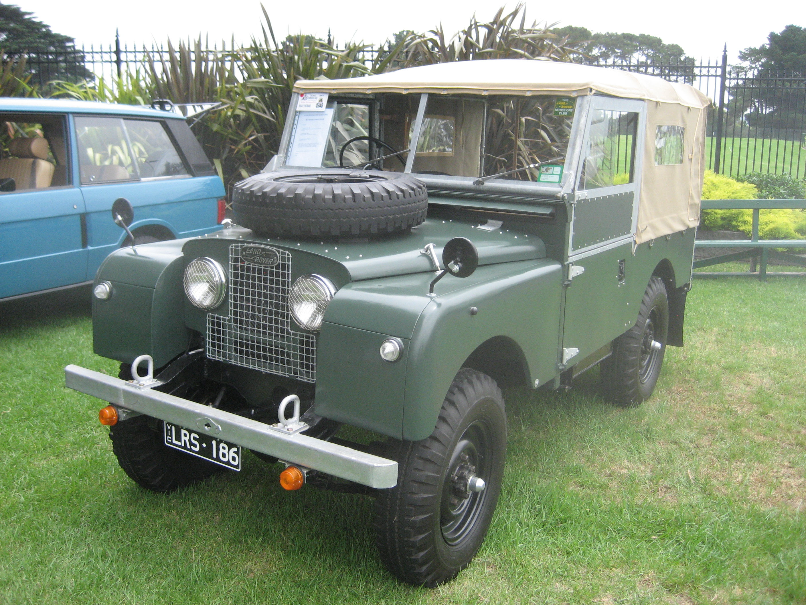 1965 Land Rover Series II Information and photos MOMENTcar