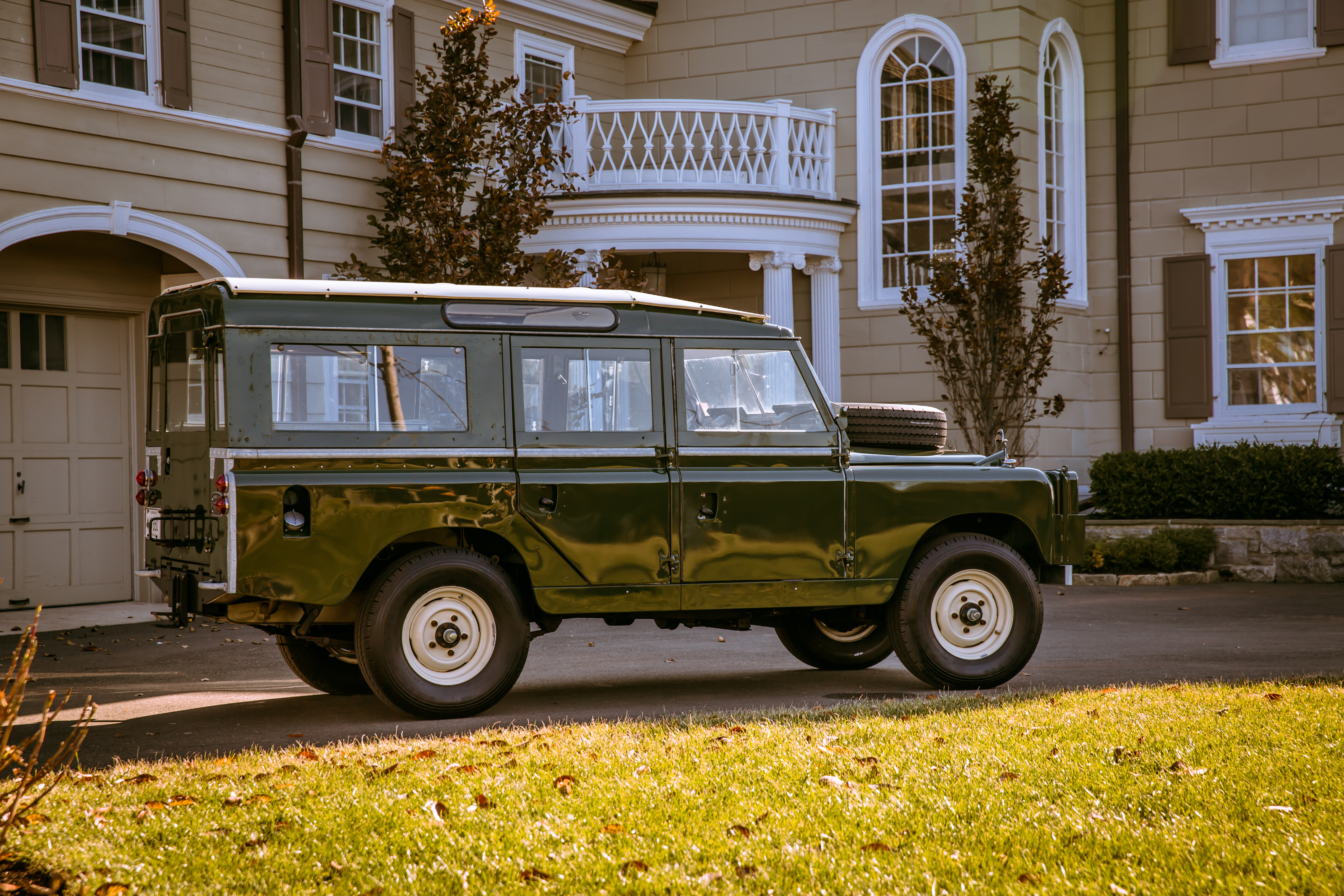 1967 Land Rover Series II Information and photos MOMENTcar