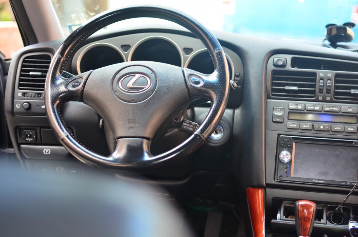 hight resolution of 2001 lexus gs300 interior