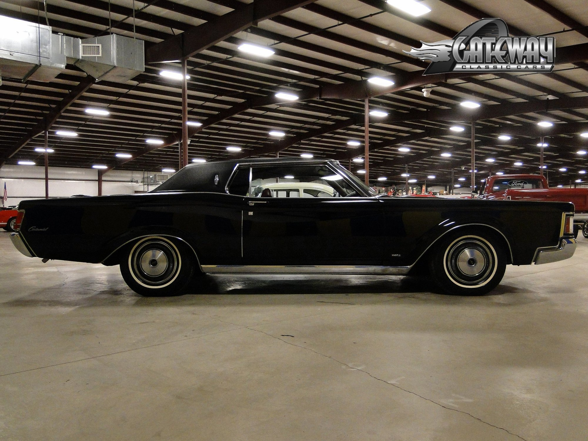 hight resolution of lincoln continental 1970 9